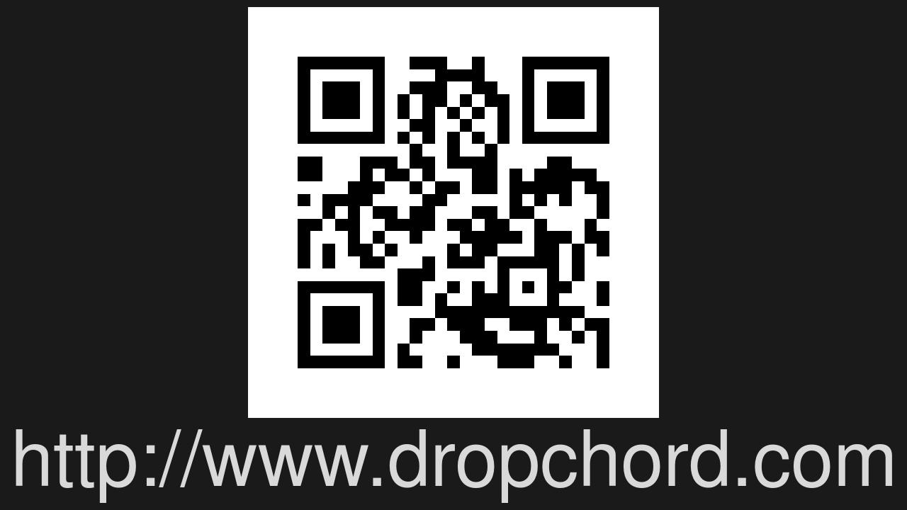 Screenshot of dropchord