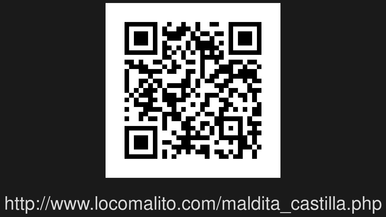 Screenshot of Maldita Castilla