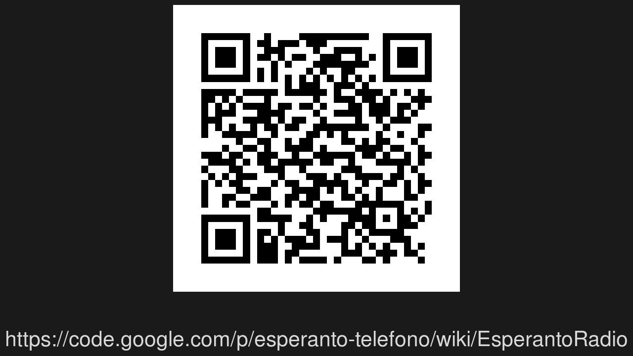 Screenshot of Esperanto-radio Muzaiko