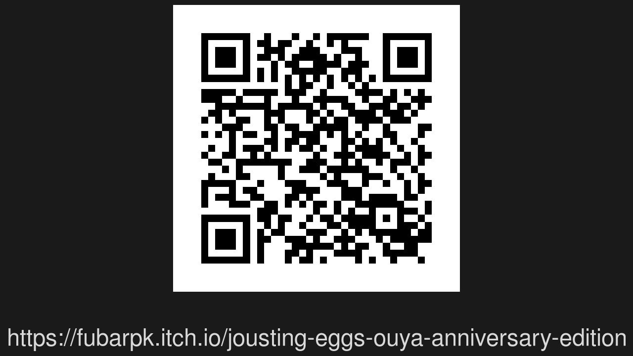 Screenshot of joustingEggs
