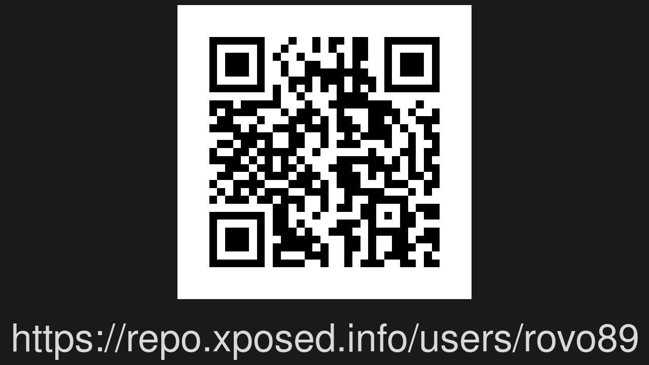 Screenshot of XPosed installer