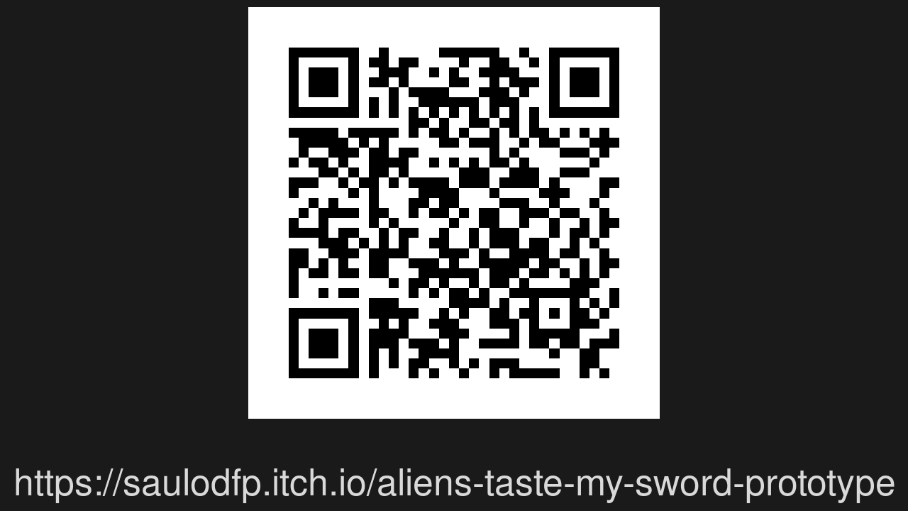 Screenshot of Aliens Taste My Sword