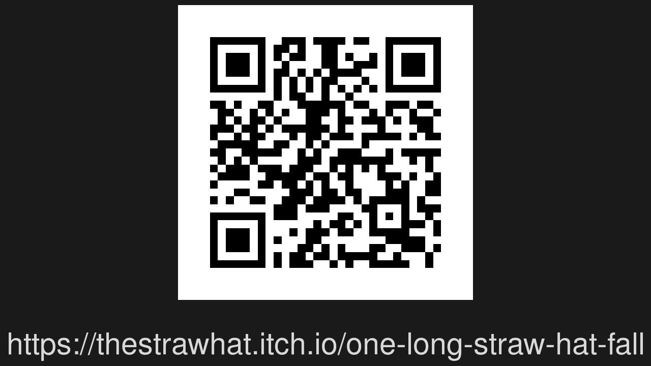 Screenshot of OneLongStrawHatFall